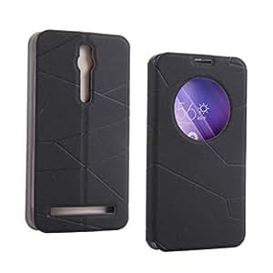 iKraft CircleWindow PU Leather Flip Case for Asus Zenfone 2 (5.5