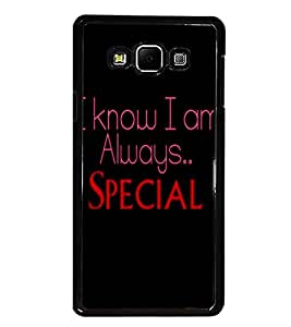 PrintDhaba Quote D-4415 Back Case Cover for SAMSUNG GALAXY A7 (Multi-Coloured)