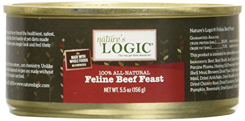 Nature's Logic Feline Beef Feast
