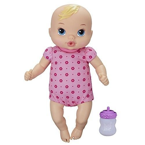 1 ++ ++ Baby Alive Luv 'n Snuggle Baby Doll Blond / Little girls can have the love and fun of real babies with this Luv 'n Snuggle Baby doll!