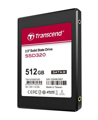 Transcend SSD 2.5インチ SATA3 6Gb/s 512GB 3年保証 TS512GSSD320