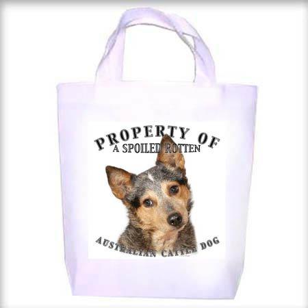 Australian Cattle Dog BLUE Property Shopping - Dog Toy - Tote Bag