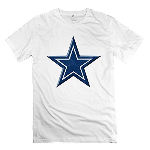 Mens Star Dallas Cowboys Tshirts - Cool Custom White T Shirt