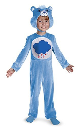 Disguise Baby Girl's Care Bears Grumpy Bear Classic Costume