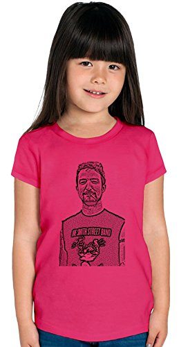 Frank Turner Illustration Ragazze T-shirt Stylish T-Shirt For Girls Fashion Fit Kids Printed Clothes By Genuine Fan Merchandise 2/3 yrs