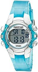 Timex Women's T5K817M6 Marathon Digital Stainless Steel Watch