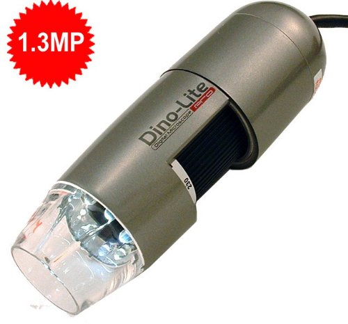 Dino-Lite AM411T USB Digital Microscope 10~50X,200X