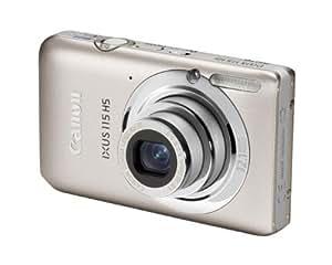 Canon IXUS 115 HS - Cámara Digital Compacta 12.1 MP (3 pulgadas LCD, 4x Zoom Óptico) - Plata