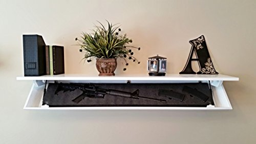 COVERT-CABINETS-SG-58-Gun-Cabinet-Wall-Shelf-Hidden-Storage-Aspen-White
