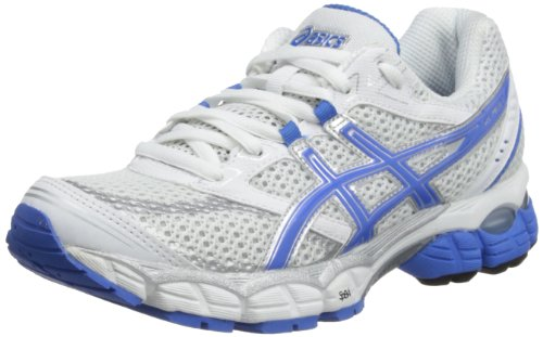 Asics Womens Gel Pulse 5 W White/French Blue/Charcoal Running Shoes T3D6N 0159 7 UK, 40 EU