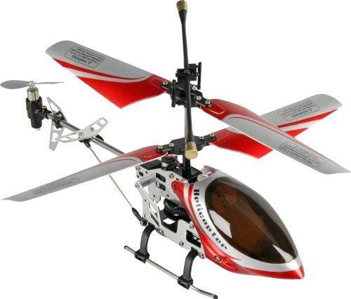 Bilder von Fun2Get REH46112-1 - RC Hubschrauber Mini Helikopter Falcon-X Metal RTF mit Gyro-Technologie, rot