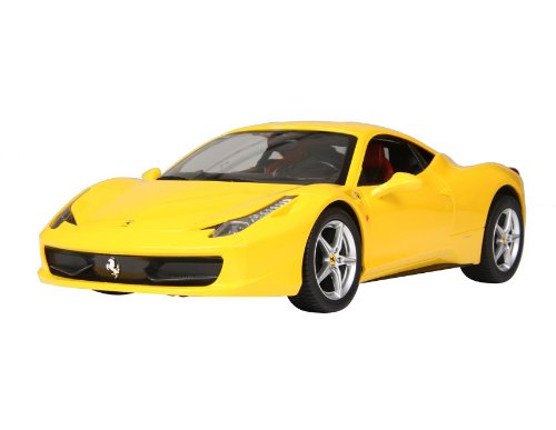 1:14 Ferrari RC Car Toy Licensed Car Model (Yellow) + Worldwide free shiping