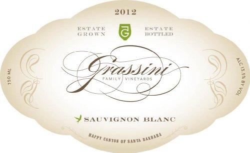 2012 Grassini Family Vineyards Happy Canyon Estate Sauvignon Blanc 750 Ml