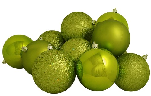 Christmas Ornaments: Cheap 60ct Key Lime Green Shatterproof 4 ...