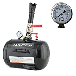 ARKSEN 5 Gallon Air Bead Seater Inflator Blaster Tire Seating ATV Tractor, Black