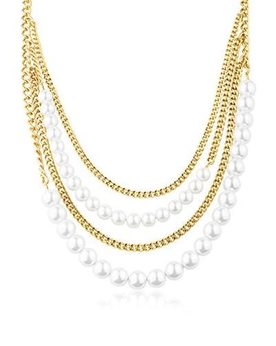 Dyrberg/Kern Collar Kerian Sg White Dorado