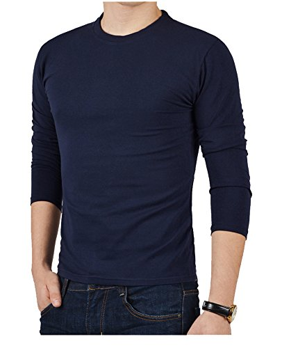 colyanda-mens-base-long-sleeve-crew-neck-top-classics-thermal-topnavy-2xl