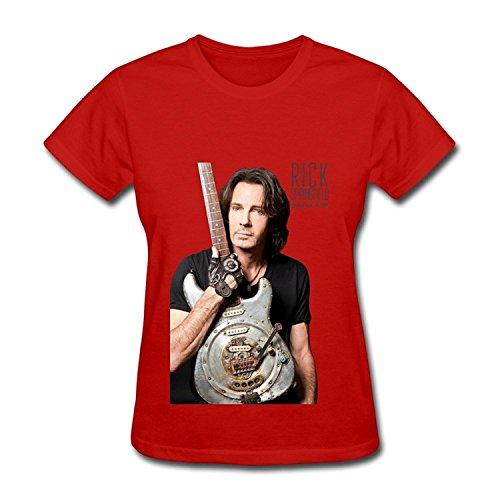 Rick Springfield T Shirt For Women White XXLarge
