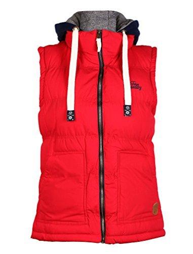 Uomo Abbigliamento Comodo Tokyo Laundry Nuovo Casual Pigiama Lungo Cotone Caldo Abbigliamento Da Notte - Rosso, XS 36 EU