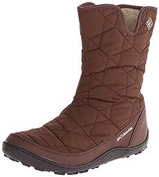Columbia Women\'s Minx Slip II OH Cold Weather Boot, Tobacco/British, 7 M US