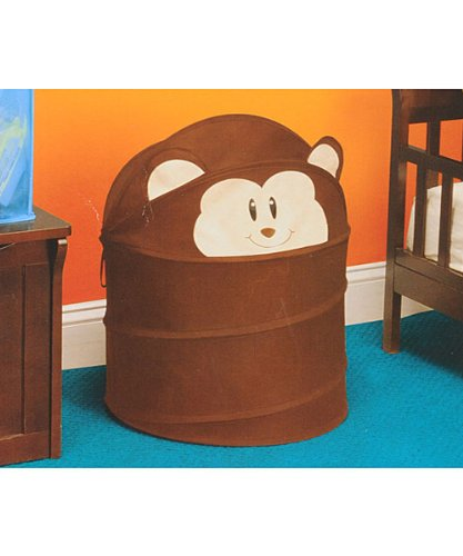 Delta SOS Pop-Up Hamper - Monkey - brown, one size