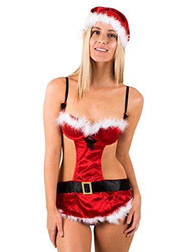 Caram (Mrs Claus Costume Naughty)