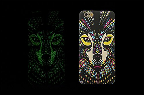 borch-fashion-luminous-series-the-king-of-beasts-deep-forest-phone-protective-shell-for-iphone-6-47-