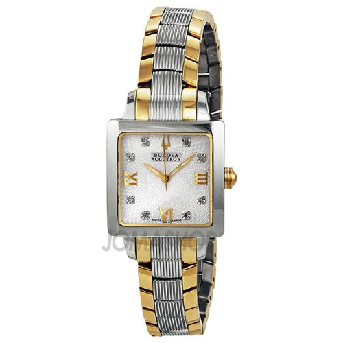 Bulova Accutron Masella Stainless Steel Ladies Watch 65P102