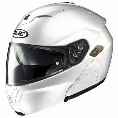 Hjc Symax 3 Flip-Up/Modular Touring Bluetooth Ready Motorcycle Helmet - White