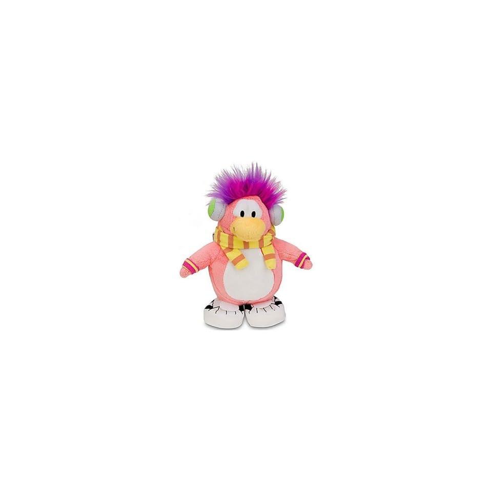 Super RARE Cadence   Disney Club Penguin 6.5 Plush Doll + Coin to Unlock 2 Treasure Book Items of Your Choice