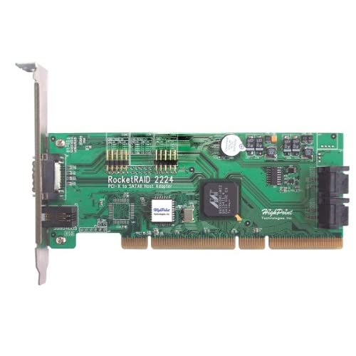 HighPoint-RocketRAID-2224-4-Internal-4-External-Channel-PCI-X-SATA-3Gb-s-RAID-Co