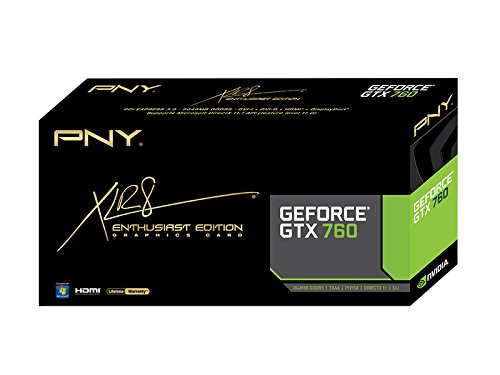 28%  Cheaper than USA price @ Amazon.ca -  Geforce Gtx 760 2048mb Pcie Gddr5,2dvi/Hdmi/Dp,Pciex16,Cuda1152,3way Sli,Directx