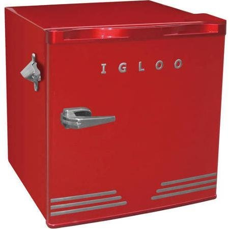 Igloo 1.6 cu ft Retro Compact Refrigerator with Side Bottle Opener (Mini Fridge Red compare prices)