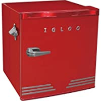 IGLOO 1.6 cu. ft. Mini Refrigerator (Red) + $10 Gift Card