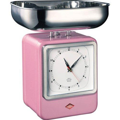 Wesco 322 204-26 Balance de cuisine (Rose)
