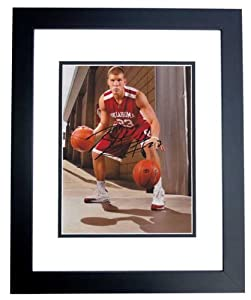 Blake Griffin Autographed Hand Signed Oklahoma Sooners 8x10 Photo - BLACK CUSTOM... by Real Deal Memorabilia