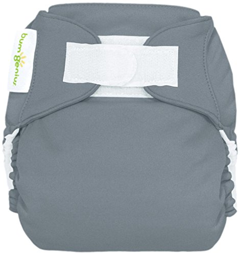 BumGenius All In One Cloth Diaper - Jolly (Citron Green) - One Size - Hook & Loop