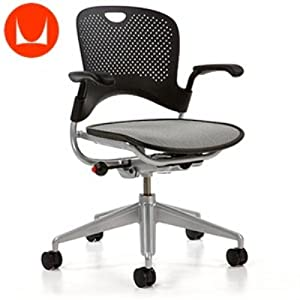 Herman Miller Caper XR Black W Silver Frame Multipurpose Chair
