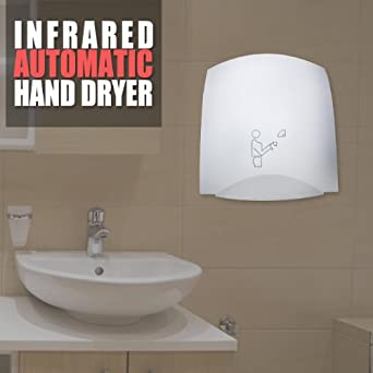 Automatic Infrared Hand Dryer Electric Restaurant Bathroom