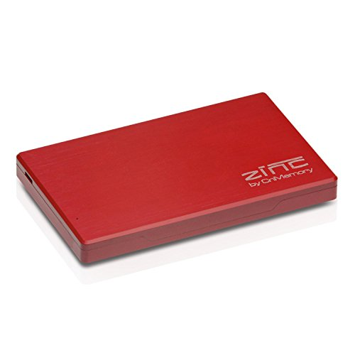 CnMemory Zinc externe Festplatte 160GB (6,4 cm (2,5 Zoll), USB 3.0) rot
