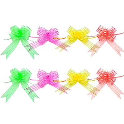 YazyCraft Assorted Pull Bow Ribbons set of 8