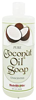 Nutribiotic Pure Coconut Oil Soap