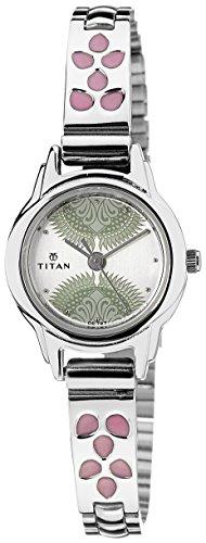 Titan-Silver-White-Dial-Womens-Analog-Watch-2401SM03