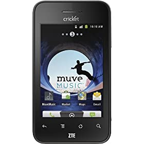 Cricket - ZTE Score X500 No-Contract Prepaid Cell Phone
