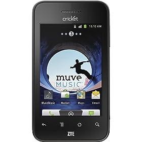 Cricket - ZTE Score X500 No-Contract Prepaid Cell Phone