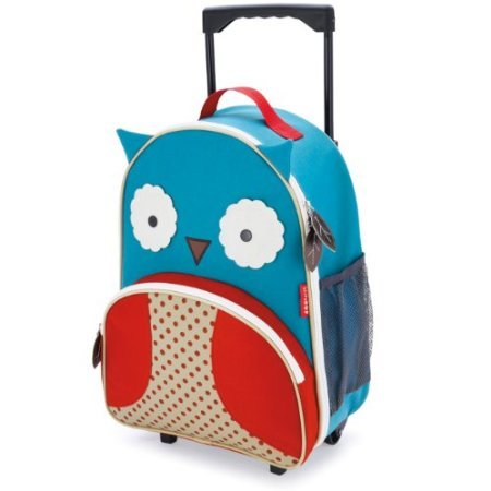 Skip Hop Zoo Little Kid Luggage, Owl front-975120
