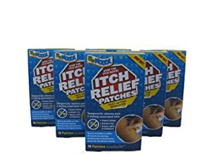 BeKoool Itch Relief Patches (6 - 18 count boxes) by BeKOOOL