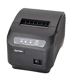 Xprinter XP-Q200II 80mm POS USB Thermal Receipt , Label Printer(Black)