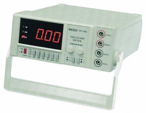 Reed Mo-2002-230V Bench Type Milliohm Meter With Large Led Display, 20 Kilohms Resistance, 230V Voltage
