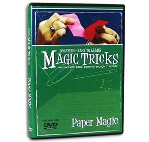 Amazing Easy to Learn Magic Tricks DVD: Paper Magic